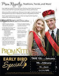 Prom Royalty: Traditions, Trends, and More!