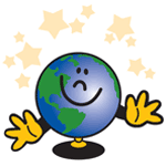 0296 - Globe with Hands