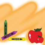 1006 - Apple & Crayons