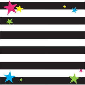 2415 - retro stripes and stars