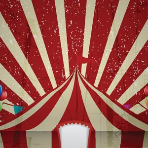 3403 - Circus graphic backgroun