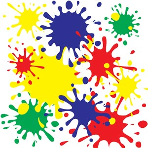3519 - Primary color splat