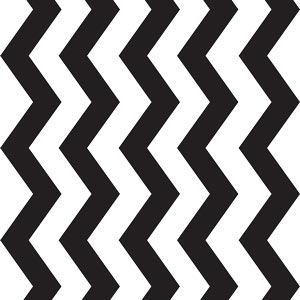 3757 - Black Chevron