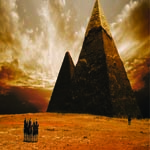 3885 - Pyramids Background Grap