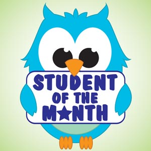 4209 - Student of the Month Owl