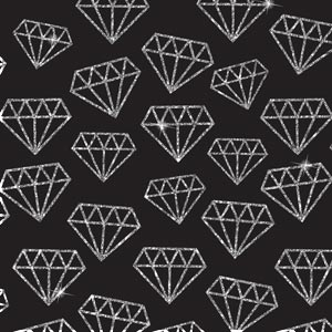 4640 - Glitter Diamonds Graphic