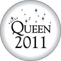 1933 - White Queen 2012 Button