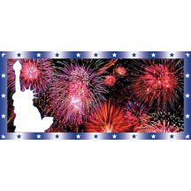 0794 - Fire works banner