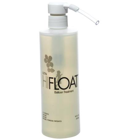 Ultra Hi-Float Balloon Treatment 16 oz. Container with Pump