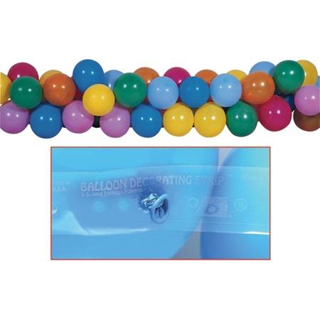 Balloon decoration strip