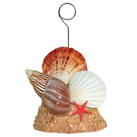 Seashells Photo/Balloon Holder