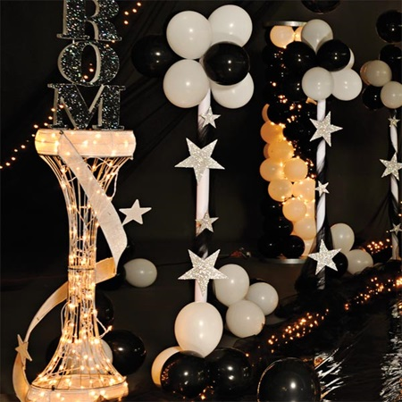 Star Pearls Balloon Columns Kit Set Of 2 Prom Nite
