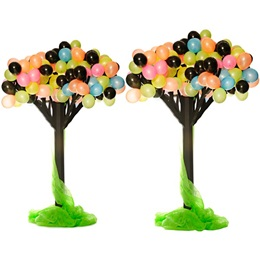 Razzle-Dazzle Balloon Trees Kit - Set of 2