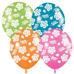 Latex Luau Balloons