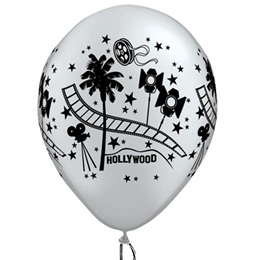 Latex Hollywood Film Balloons