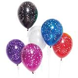 11 in. Star Printed Balloons