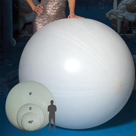 Mega Latex Balloon 60 Quot White Prom Nite