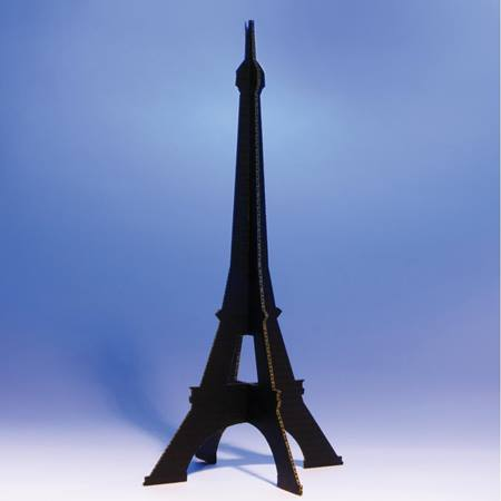 Black Eiffel Tower Centerpiece