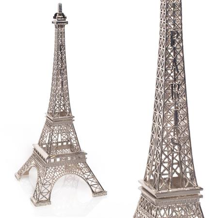 Eiffel Tower Centerpiece - Silver