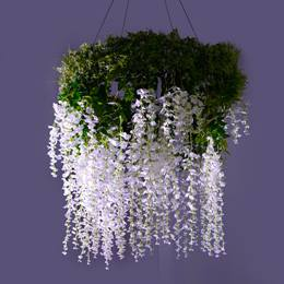 Elevated Elegance Floral Chandelier Kit