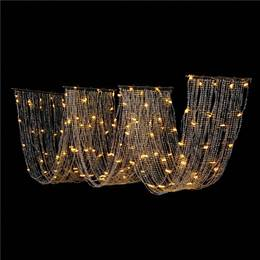 Small Lighted Wave Curtain