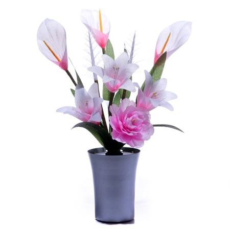 Fiber Optic Centerpiece – Lily