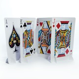 Playing Card Stand Up Centerpiece