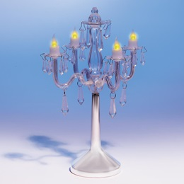 Clear Crystal Chandelier Centerpiece