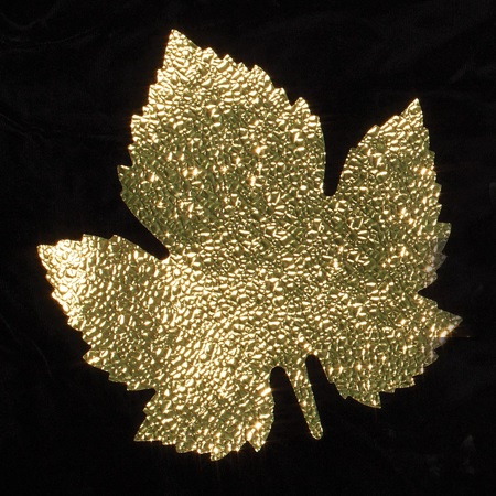 Cracked Ice Maple Leaf Decorations