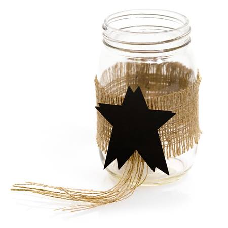 Mason Jar Decorating Kit - Stars