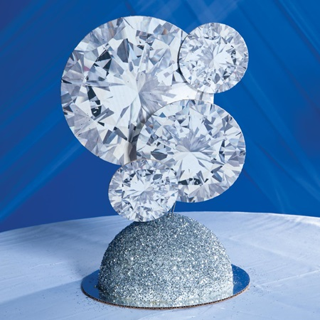 Diamond Deluxe Centerpiece Kit Prom Nite