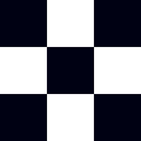 Checkerboard Flat Paper – White and Black