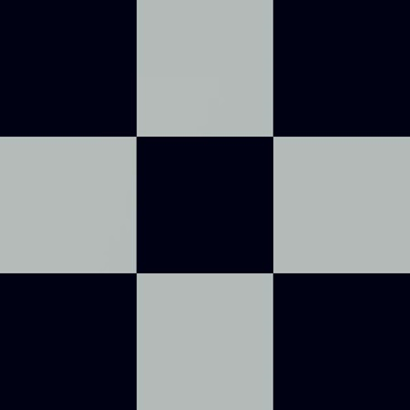 Checkerboard Flat Paper – Silver and Black