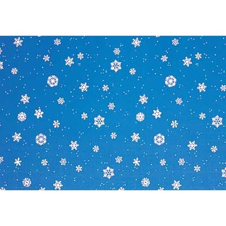 Patterned Background Paper – Winter Snowflakes