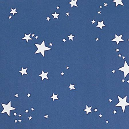 Patterned Background Paper – White Stars on Blue