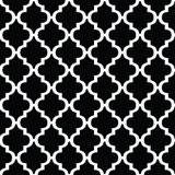 Black and White Moroccan Decorating Paper