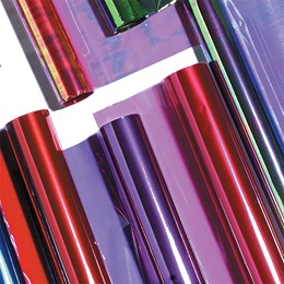 Iridescent Clearphane Material