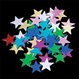 Multi-color Star Confetti - .5 oz