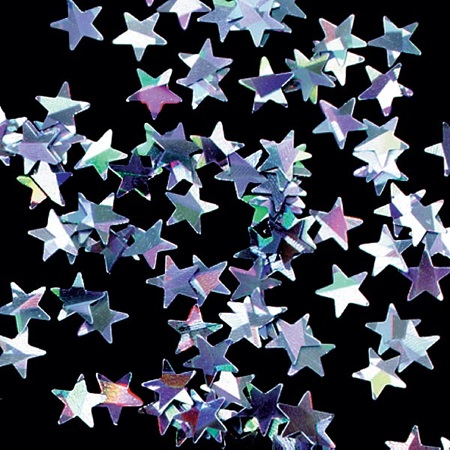 Holographic Star Confetti - 1 oz.