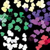 Metallic Heart Confetti - 1 ounce