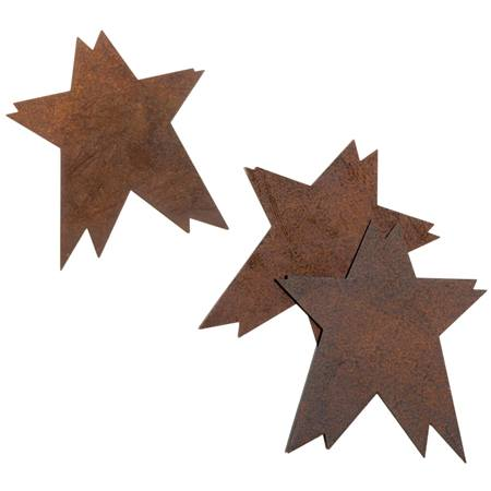 Rusty Stars Cut Outs