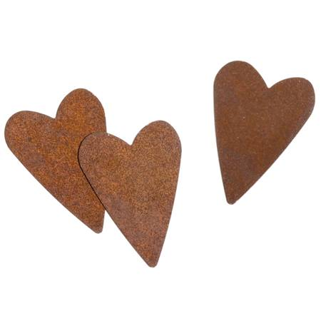 Rusty Hearts Cut Outs
