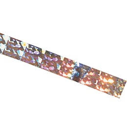 Holographic Spangle Tape - 1 inch x 100 feet