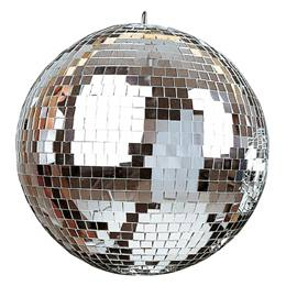 12 inch Mirror Ball with Turner