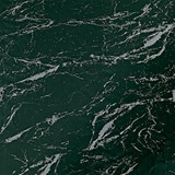 Flame Retardant Black Marble Poly - 10 feet x 100 feet
