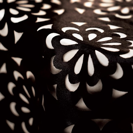 Die-cut Fabric