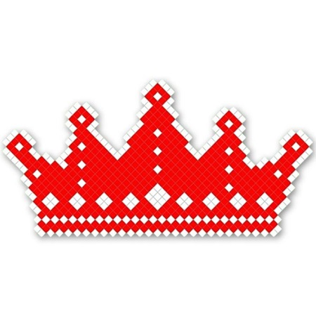 Crown Design Fence Decoration