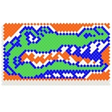 Alligator Design Fence Decorations