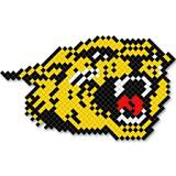 Growling Cat Design Fence Decoration