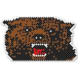 Snarling Bear Design Fence Decoration